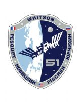 OFFICIAL NASA ISS 51 SPACE STATION PIN